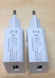 China One USB Port Mobile Phone Travel Charger White Color Overcurrent Protection supplier