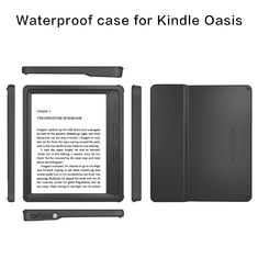 China Adjustable Tablet Stand Shockproof Tablet Case , Tablet Hard Case For Kindly Oasis supplier