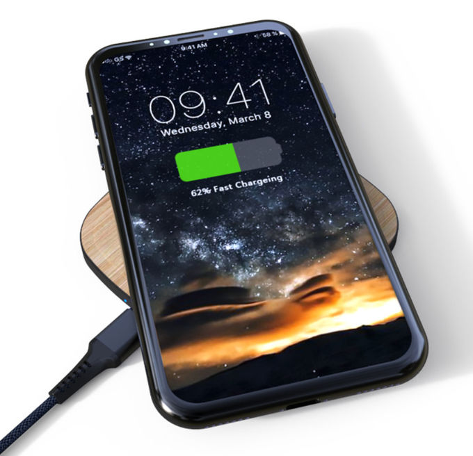 Type C Cable Wireless Travel Charger , High Speed Cordless Cell Phone Chargers