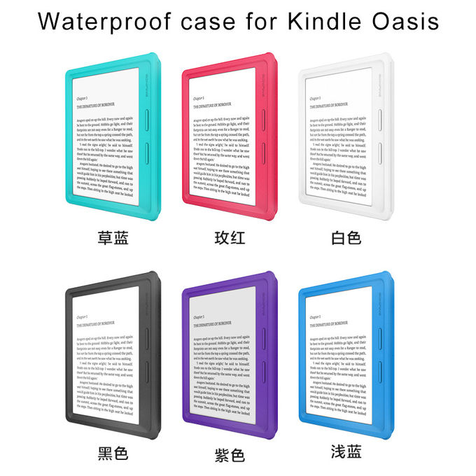 Adjustable Tablet Stand Shockproof Tablet Case , Tablet Hard Case For Kindly Oasis
